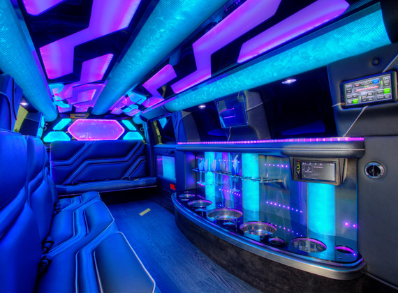 Jeep Limo Interior 7