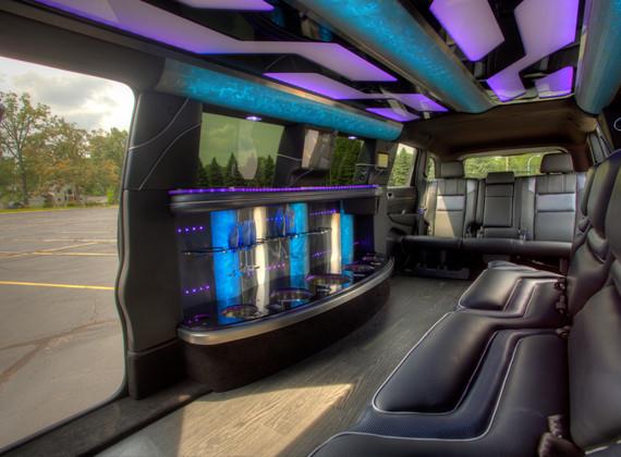 Jeep Limo Interior 3