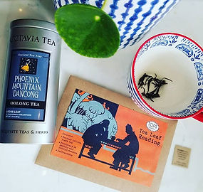 Boredom Buster Alert: newly arrived Tea