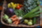 Baskets of fresh produce, delivered to your door!