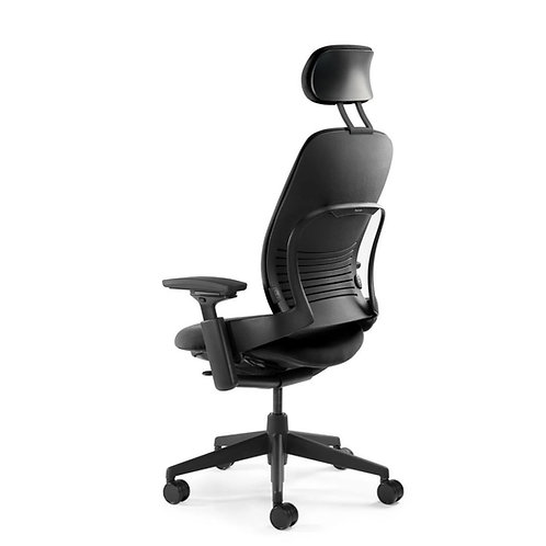 Telstra - Leap V2 Chair - Fabric with Headrest (Dispatching January)
