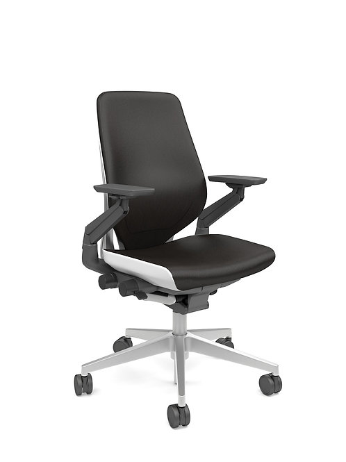 Gesture Chair - Light Shell - Leather