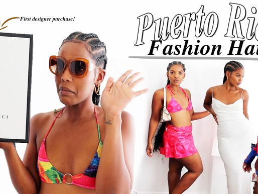 My Puerto Rico Trip Fashion Haul!