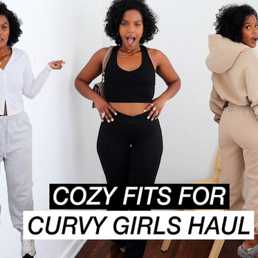 How to shop sweats for curvy girls!