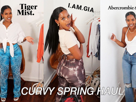 Curvy Spring Outfits Haul