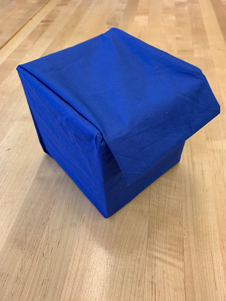 Box with flap