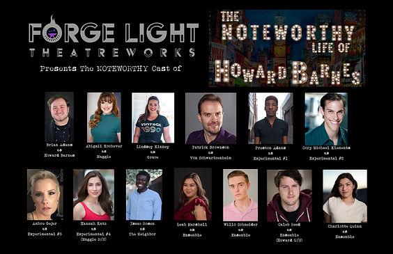 Cast of Howard Barnes