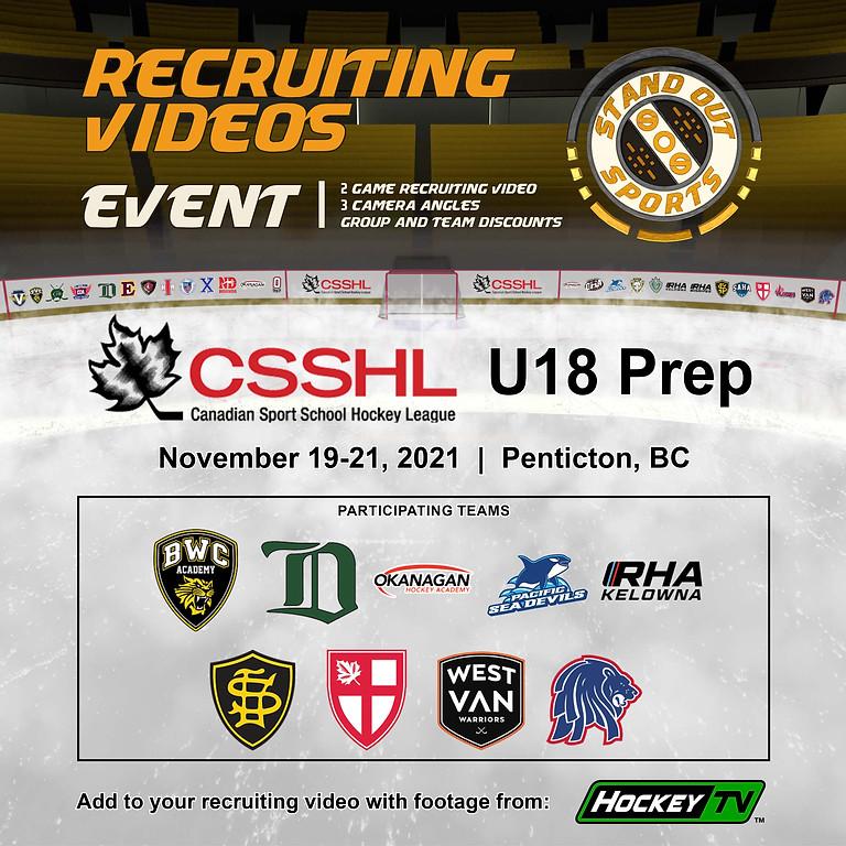 CSSHL U18 Prep Showcase