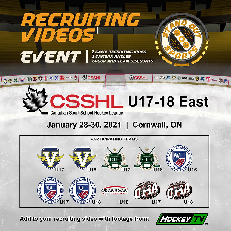 CSSHL U17-18 East Showcase