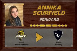Annika Scurfield