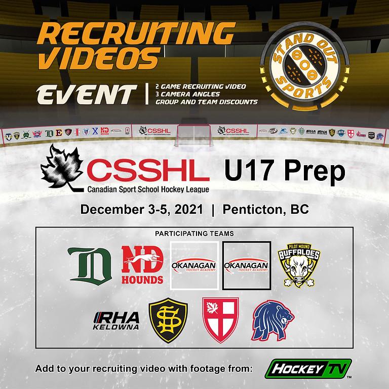 CSSHL U17 Prep Showcase