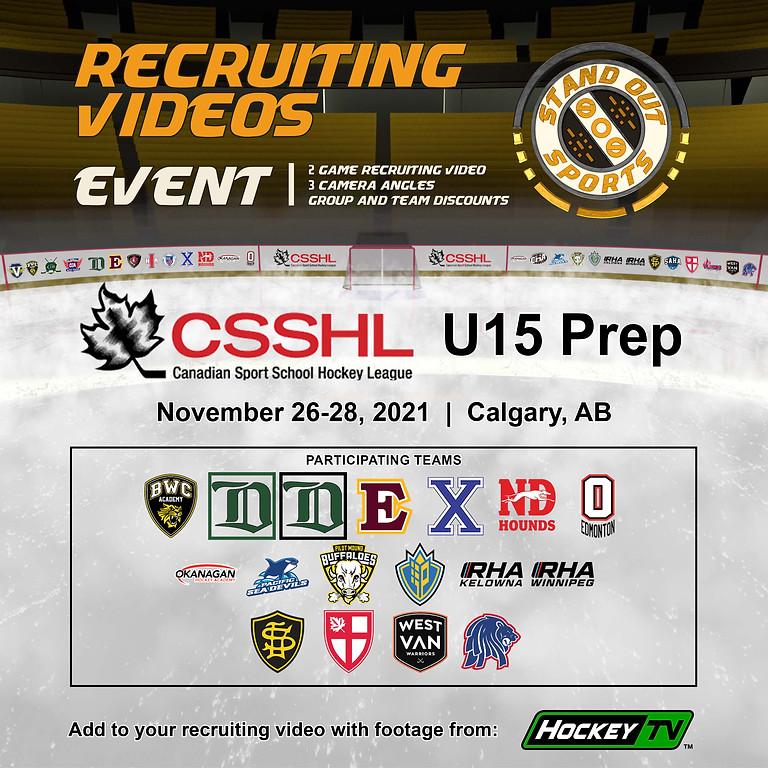 CSSHL U15 Prep Showcase
