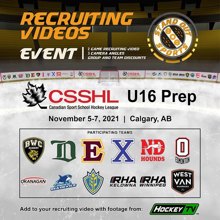 CSSHL U16 Prep Showcase