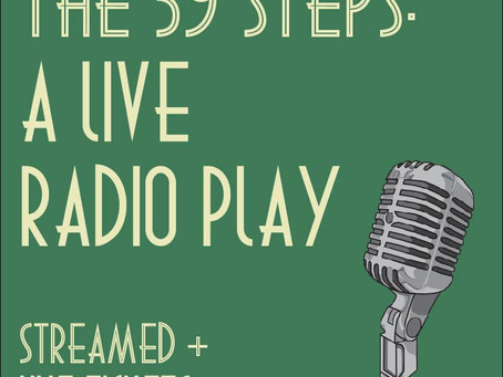 The 39 Steps - A Live Radio Play