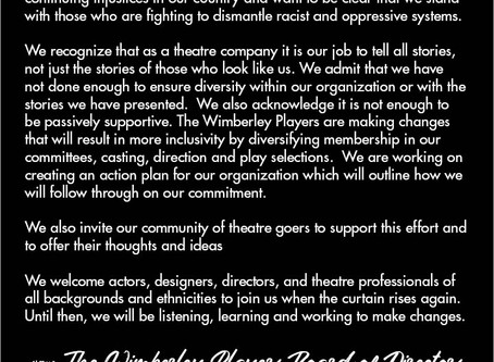 A Statement From The Board of Directors