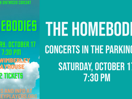 The Homebodies - Concert in the Parking Lot