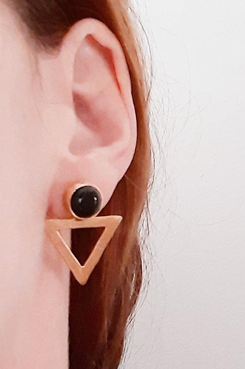 Pendiente triángulo negro