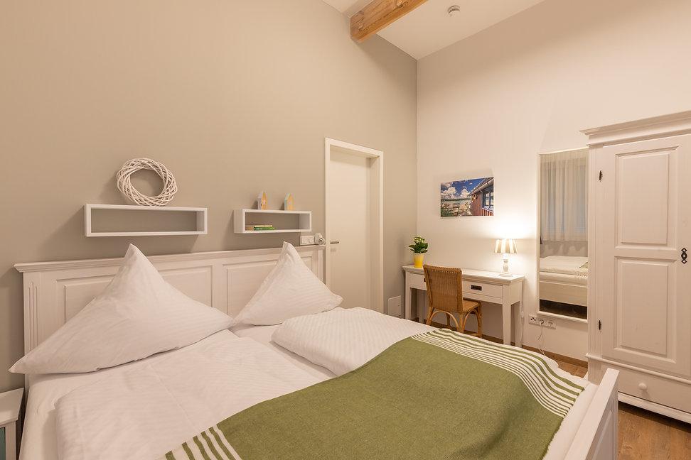 Romantisches Schlafzimmer am Se