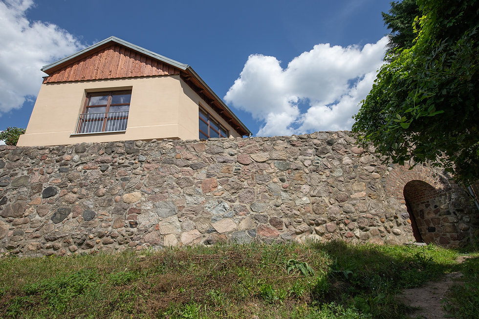 Urlaub am See in einem romantisheHaus an der Stadtmauer von Lychen
