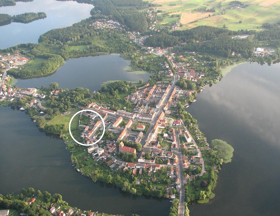 Lychen Uckermark Brandenburg Ferienwohnung am See
