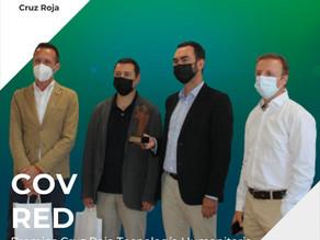 Nuestro proyecto COV RED recibe el premio Cruz Roja de Tecnología Humanitaria