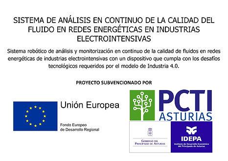 •Sistema de análisis en continuo de la calidad del fluido en redes energéticas en industrias electrointensivas