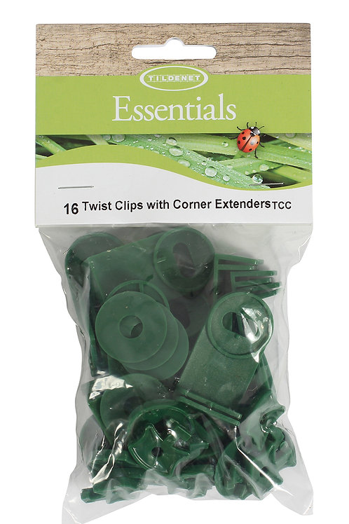 Twist Clips With Corner Extenders