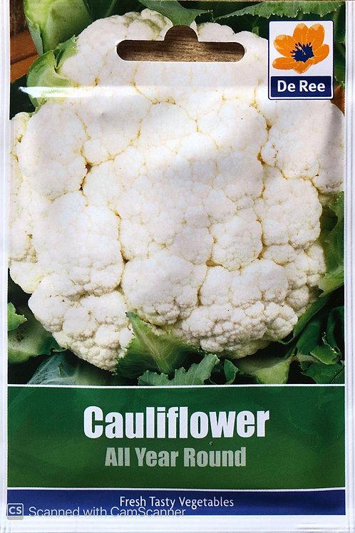 Cauliflower All Year Round (De Ree Seeds)