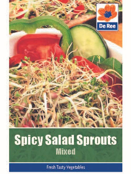 Spicy Salad Sprouts (De Ree Seeds)