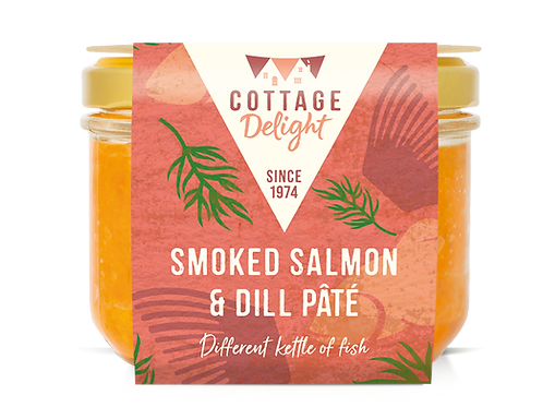 Cottage Delight Smoked Salmon & Dill Pate 180g