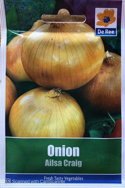 Onion Ailsa Craig (De Ree Seeds)