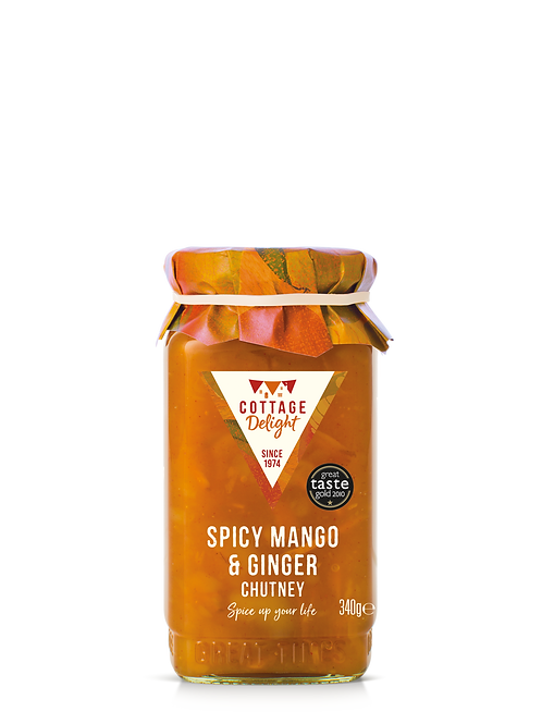 Cottage Delight Spicy Mango & Ginger Chutney 340g
