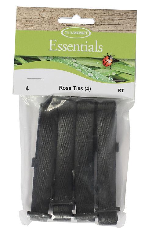 Rose Ties (Pack of 4)