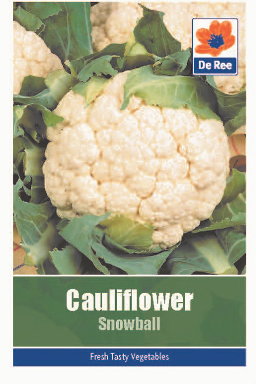 Cauliflower Snowball (De Ree Seeds)