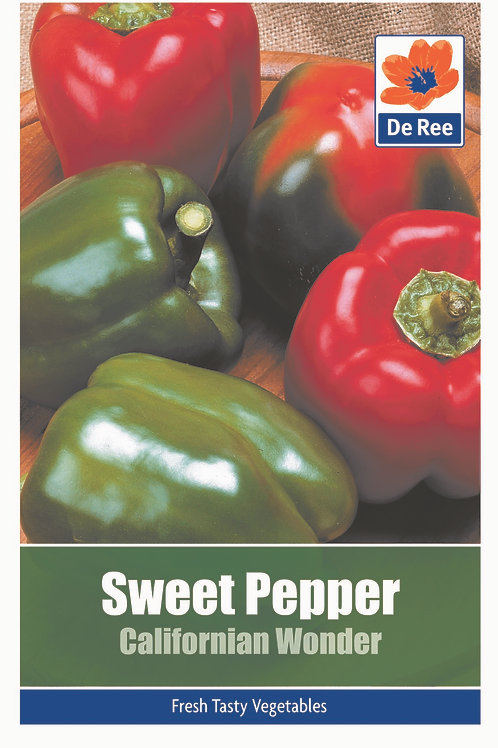 Sweet Pepper Californian Wonder (De Ree Seeds)