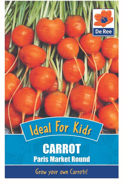 Carrot Market Round (De Ree Seeds)