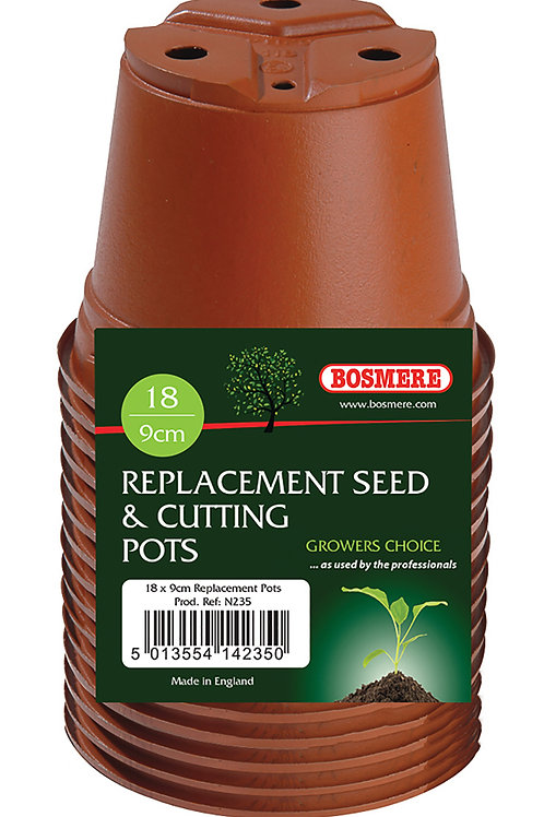 Replacement Seed & Cutting Pots 18 x 9cm (Growers Choice)