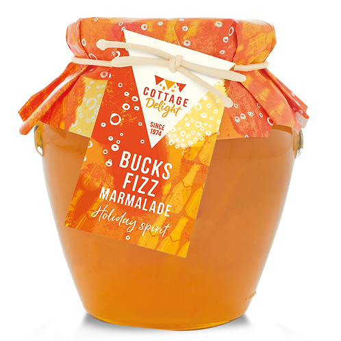 Cottage Delight Bucks Fizz Thin Cut Marmalade 365g
