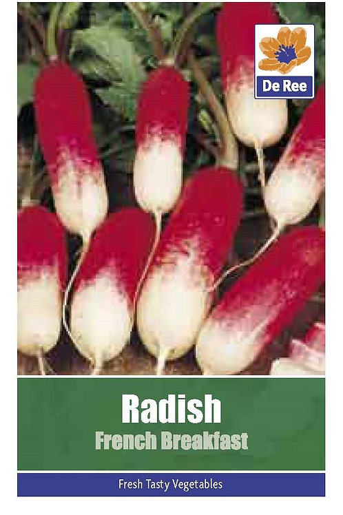 Radish French Breakfast (De Ree Seeds)
