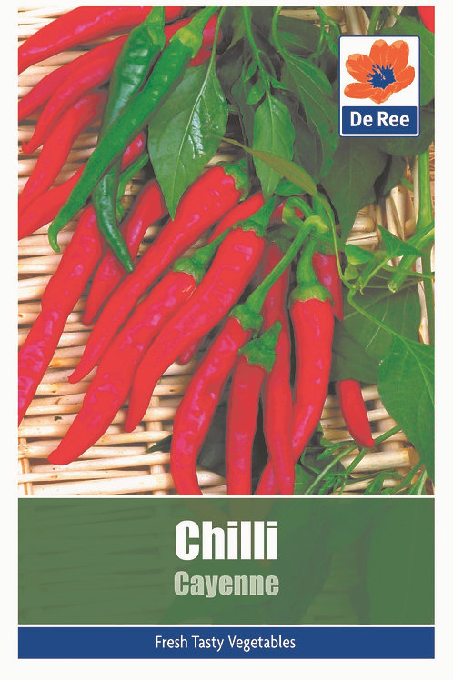 Chilli Cayenne (De Ree Seeds)
