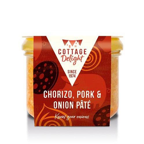 Cottage Delight Chorizo, Pork & Onion Pate 180g
