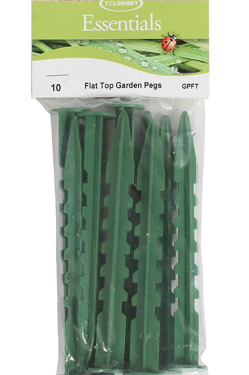 Flat Top Garden Pegs