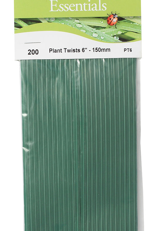 "Plant Twists 6"" (150mm)"