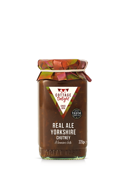 Cottage Delight Real Ale Yorkshire Chutney 320g