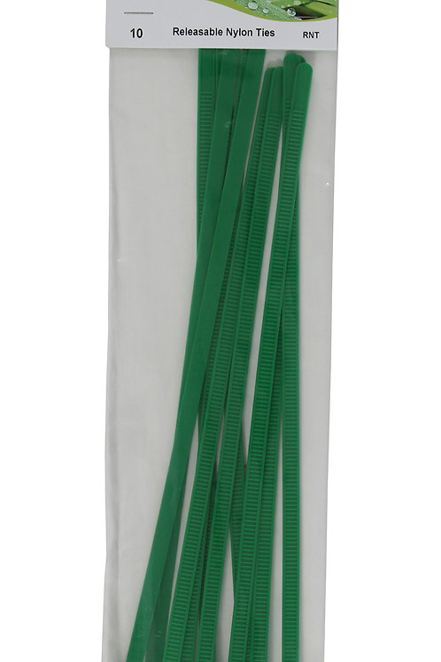 Releasable Nylon Ties (Pack of 10)
