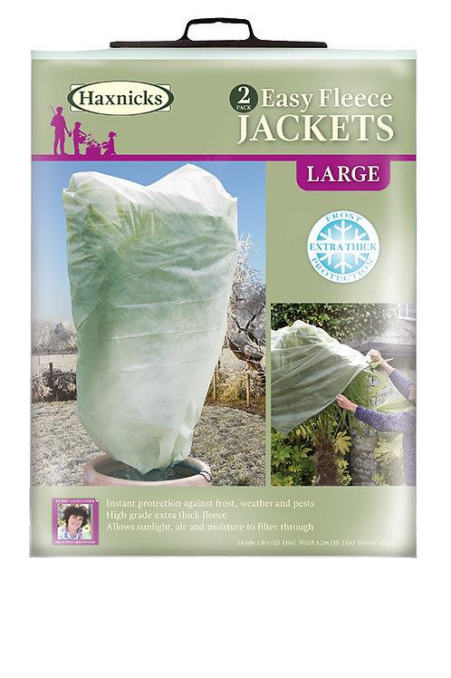 Easy Fleece Jacket Large - Pack of 2 (Haxnicks)