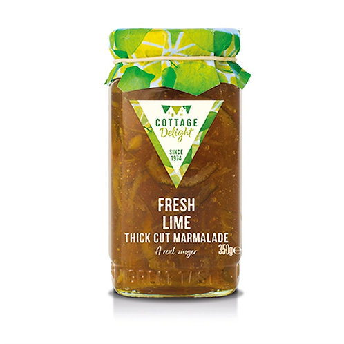 Cottage Delight Fresh Lime Thick Cut Marmalade 350g