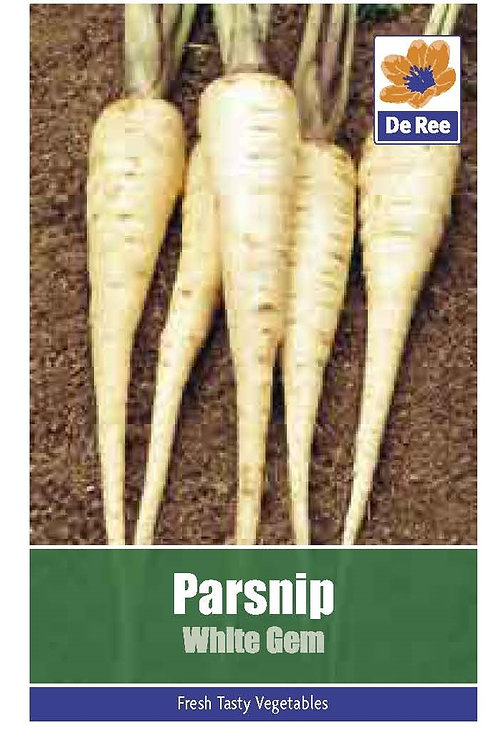 Parsnip White Gem (De Ree Seeds)
