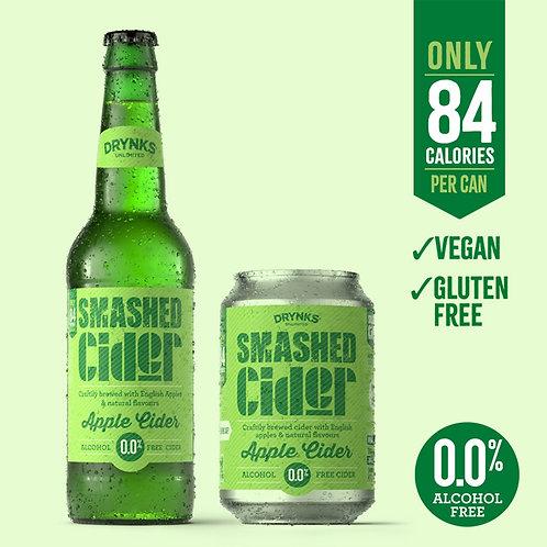 Smashed Non-Alcoholic  Apple Cider 330ml Bottle