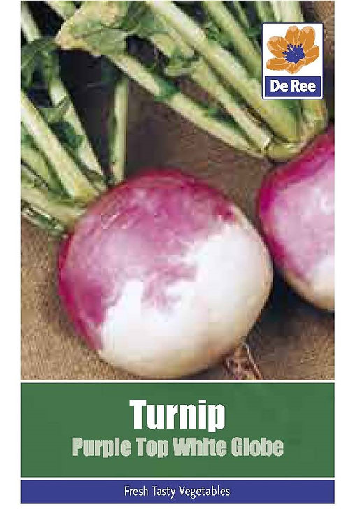 Turnip Purple Top White (De Ree Seeds)